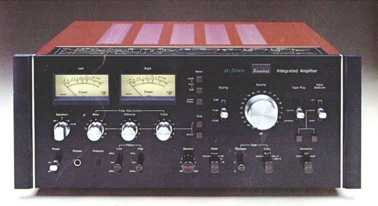 Il Sansui AU 20000