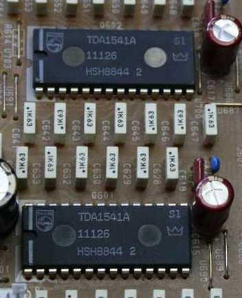 Una coppia di TDA 1541, qui nella versione S1 Silver Crown per lungo tempo ritenuti tra i migliori convertitori in termini di doti sonore.